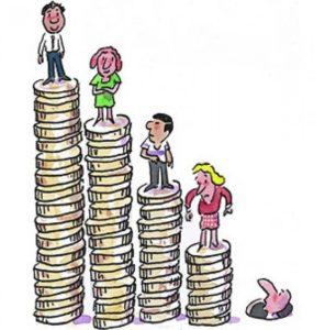 Различное благосостояние клиентов