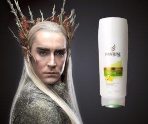 У царя эльфов красивые волосы, как ему это удалось?